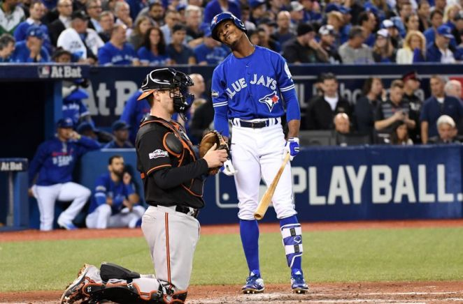 MLB: AL Wild Card-Baltimore Orioles at Toronto Blue Jays